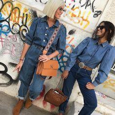 Office Outfits, Office Wear, Best Facebook, Jeans Jumpsuit, Plaid, Denim, Stylish, Instagram, Gingham