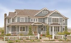 Victorian Style Home Exterior
