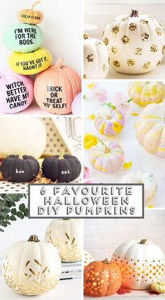 6 Favourite Halloween Diy Pumpkins