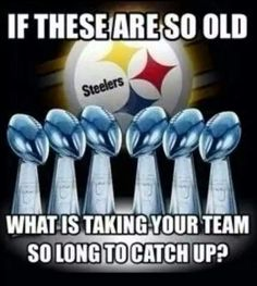 What?---Yeah I thought so!! Steeler Nation 4ever!!  {GM}