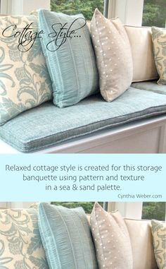 How To Creatie Relaxed Cottage Style ! By CynthiaWeber.com