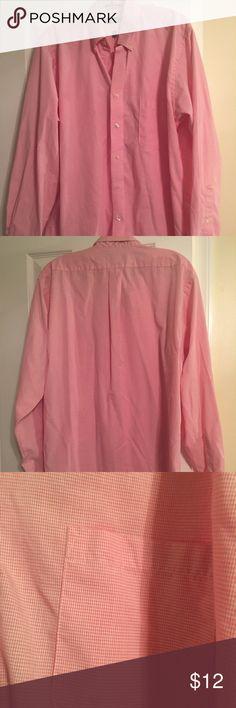 Chaps shirt Pink chaps men shirt. Great condition. Size L. Chaps Shirts Casual Button Down Shirts