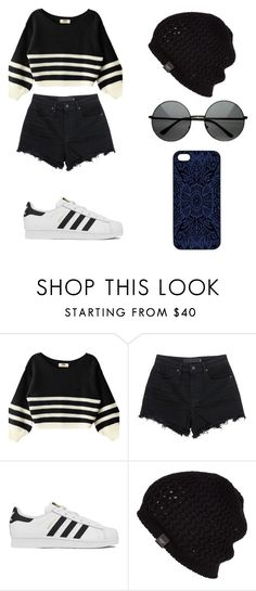 """""""Sin título #105"""" by karenrodriguez-iv on Polyvore featuring moda, T By Alexander Wang, adidas, UGG Australia, Samantha Warren London, women's clothing, women, female, woman y misses"""