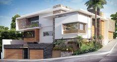 Imagen relacionada Layouts Casa, House Layouts, Design Exterior, Facade Design, House Front Design, Modern House Design, Style At Home, Modern Bungalow Exterior, Modern Properties