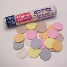 Necco wafers were my favorite candy everrrr when i was a kid:) Retro Candy, Vintage Candy, Vintage Toys, Necco Wafers, Old School Candy, Penny Candy, Favorite Candy, I Remember When, Oldies But Goodies