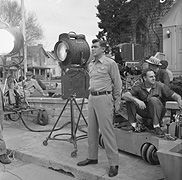 A gallery of behind-the-scenes images associated with the classic television series The Andy Griffith Show Great Tv Shows, Old Tv Shows, Frances Bavier, James Best, Barney Fife, Don Knotts, Press Tv, The Andy Griffith Show, Old Time Radio