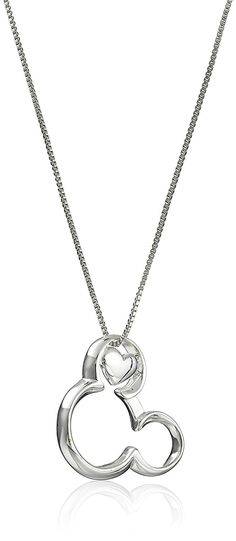 Disney Sterling Silver 'If You Can Dream It, You Can Do It' Pendant Necklace, 18' *** Be sure to check out this awesome product. (This is an Amazon Affiliate link and I receive a commission for the sales)