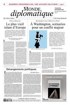 LE MONDE DIPLOMATIQUE  nº 750 (Setembro 2016)