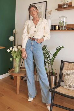 summer outfits women casual fashion ideas street styles summer outfits women style inspiration color combos summer o Casual Street Style, Look Street Style, Street Chic, Fashion 2020, Look Fashion, New Fashion, Womens Fashion, Girl Fashion, Jeans Fashion