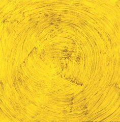 """""""Work No. 3 (Yellow Painting)"""" Martin Creed Date: 1986 Style: Minimalism Genre: abstract"""