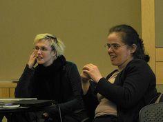 Elisabeth Bauer y Eva Tardos Eva Tardos:  informática teórica húngara, ganadora del Premio Fulkerson en 1988 De Marc Smith. Flikr