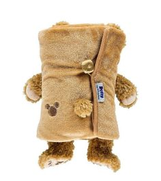 "Disney Parks Duffy Bear Plush Blanket New with Tag Made of Cotton / Polyester App. 1""L 49""W 33""H New with Tag"