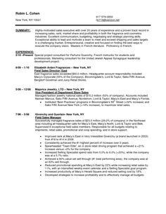 Sales Resumes Examples Awesome Special Car Sales Resume To Get The Most Special Job