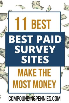 How To Get Paid To Take Surveys   Do you want to make money on the side by taking surveys? Not sure what the best survey sites are? Click through to learn how to make $1,000 a year taking paid surveys by using the best survey sites! #MakeMoney #MakeMoneyOnline #PersonalFinance