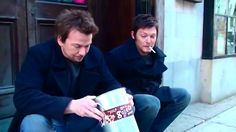 The boondock saints sean patric flanery norman reedus Sean Patrick Flanery, Boondocks, Norman Reedus, Firefighter, Saints, Fictional Characters, Fire Fighters, Fantasy Characters, Firefighters