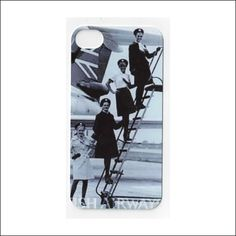 vintage stewardess iphone 5 case iphone 4 case by icasecouture, $15.99