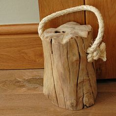 Tree Stump Door Stop