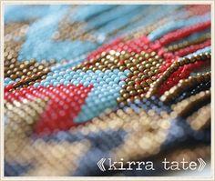 Kirra Tate Seed Bead Jewelry from  @LaylaGrayce #laylagrayce #newsletter #kirratate