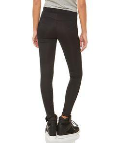 Κολάν με λάστιχο στη μέση Black Jeans, Pink, Shopping, Women, Fashion, Moda, Fashion Styles, Hot Pink, Pink Hair