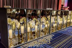 Rent our Mirrored Ba