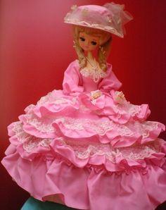 Mandarake | フランス人形 ピンクのドレス