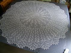 Ravelry: Heliotaxis Pi Shawl pattern by Renata Brenner