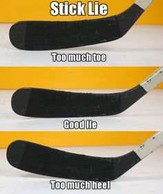 This Hockey stick guide will help beginners choose the right hockey stick. We cover Hockey stick flex, curves, lie, size, length and more. Youth Hockey, Hockey Mom, Ice Hockey, Hockey Crafts, Hockey Decor, Hockey Birthday Parties, Inline Hockey, Hockey Drills, Hockey Boards