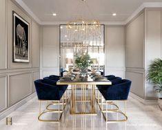 Luxury Dining Room, Dining Room Design, Luxury Living, Modern Living, Dining Rooms, Dining Tables, Small Living, Dining Area, Design Table