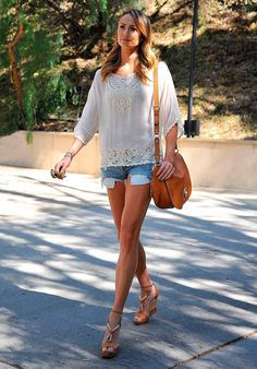 Celebs estilo off duty - Stacy Keibler