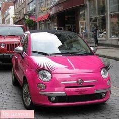 Pink ! Para garotas charmosas.