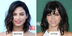 When: October 14, 2016 What: Choppy bangs Why we love it: Jenna Dewan Tatum knows what works for her: a short, shaggy bob in a dark raven hue. These new bangs she debuted on Instagram are a fresh riff on her tried-and-true theme, plus they accentuate her gorgeous bone structure.