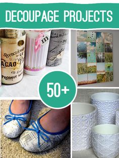 Over 50 Decoupage projects to make @savedbyloves