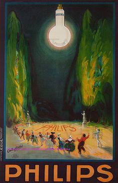 Gilbert Philibert 1923 Lampes Philips