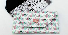 Aprenda passo a passo como fazer uma carteira de tecido