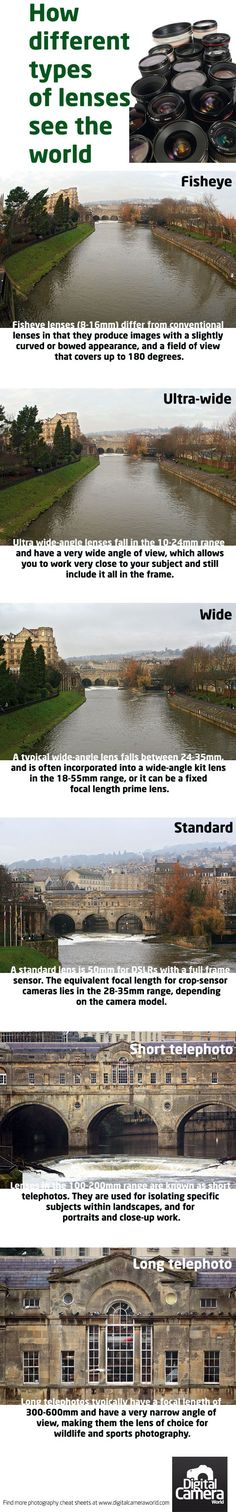 How different types of lenses 'see' the world   Digital Camera World