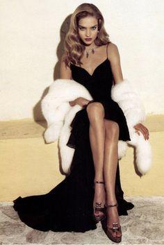 Glamourous Natalia Vodianova for Vogue US  March 2004 #fav #supermodel #nataliavodianova