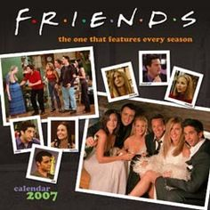 , FRIENDS TV SERIES CALENDAR,