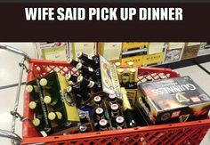 Beer Dinner Funny Drinking Meme Photo Funny Drinking Memes, Basketball Jersey, Beer, Dinner, Root Beer, Dining, Ale, Food Dinners, Shirt