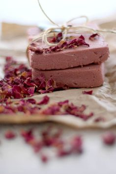 Make Your Own Rosewater   Pink Clay Soap | http://helloglow.co/make-your-own-rosewater-pink-clay-soap/