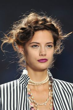 The Best Beauty Looks from New York Fashion Week: Spring 2014 - Nicole Miller