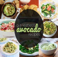 9 meatless avocado recipes