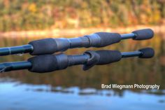 Douglas Outdoors XMatrix DXS and DXC series rods on the water