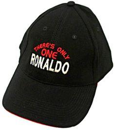 There s Only 1 RONALDO Black Baseball Cap