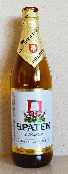 Spaten - Rubia - 5,2º - Munchen , Alemania
