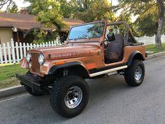 1983 Jeep CJ7 Renegade Original Rims, Reverse shackle, original color