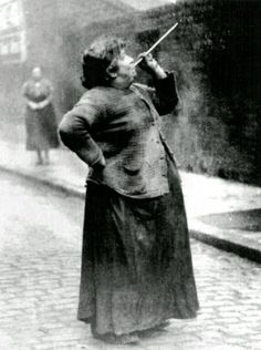 Before alarm clocks there were knocker-upper's. Mary Smith earned sixpence a week shooting dried peas at sleeping workers windows.
