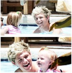 Niall and Lux! so cute! :) >>> I thought I already pinned this but I didn't!! Omg I'm horrible.... pinning this right now!