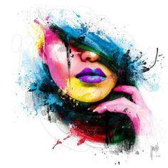 Pinturas em acrílico pelo francês Artista Visual Patrice Murciano