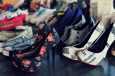 stilettos!