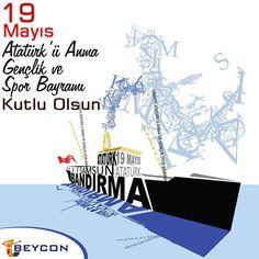 19 Mayıs Atatürk'ü Anma, Gençlik ve Spor Bayramı kutlu olsun!  #Beycon #19Mayıs